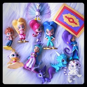 Other - Shimmer and shine toys